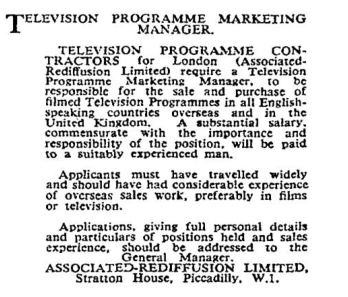 1955-09-05 AR Television Marketing Manager Times
